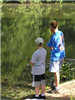 View of child and adult fishing (PDF)
