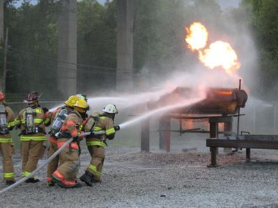 Fire Training May 2008