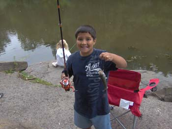 Boy With Catch